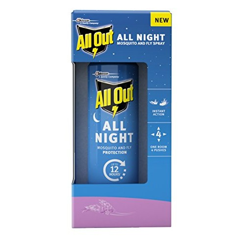 All Out - All Night Mosquito and Fly Spray