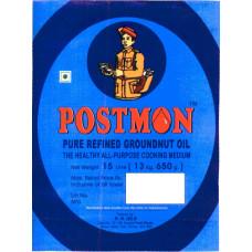 Postman Refined Groundnut Oil 15 Litre