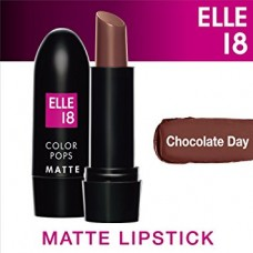 Elle 18 Color Pops Matte LipStick Chocolate Day (B42)