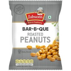 Jabsons Roasted Peanuts - Bar B Que , 140Gm
