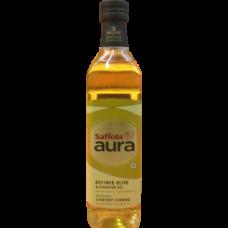 Saffola Aura - Olive & FlexSeed Oil (Refined Oil)