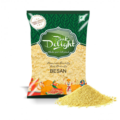 Pink Delight Pure Chana Daal Besan - Superfine ( For Khaman Dhokla )