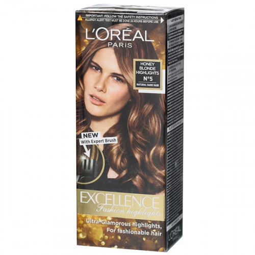 Loreal Excellence Fashion Highlights - Honey Blonde No. 5