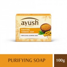 Ayush Purifying Turmeric Bath Soap 100GM