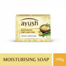 Ayush Moisturising Cow Ghee Bath Soap 100GM