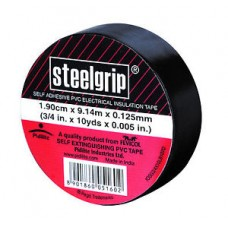 Steelgrip Electrical Insulation Tape - Black