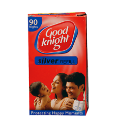 Good Knight Silver Refill - 90 NIghts , 1PC