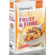 Vlcc Slimmers Multi Grain Museli - Fruit & Fibre , 250GM