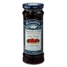 St. Dalfour Jam (Made In France) - Four Fruits , 284 GM