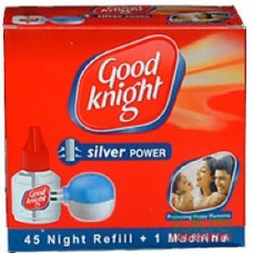 Good Knight Silver Power - 1 Machine & 1 Refill 45 Nights , 1PC