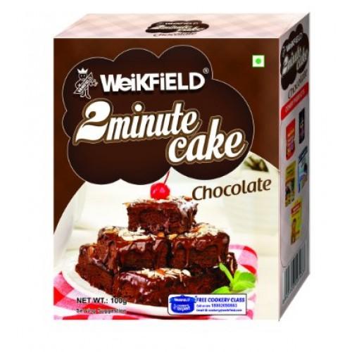 Weikfield 2 Minute Cake Mix - Chocolate , 90GM