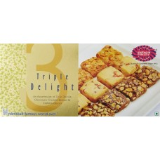 Karachi Bakery Pack Of Fruit , Chocolate Cashew and Cashew Biscuits