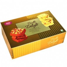 Karachi Bakery Pack Of Chocolate Cashew And Fruit Biscuits , 400Gm Pack