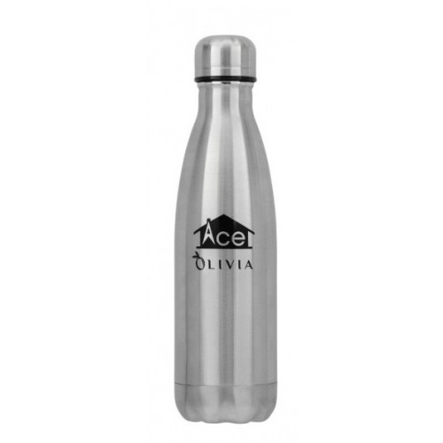 Olivia Hot & Cold Vacuum Bottle - Silver