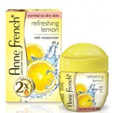 Anne French Hair Removal Cream - Lemon , 40GM