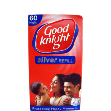 Good Knight Silver Refill - 60 Nights , 1PC