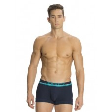 Jockey - Navy & Teal Green Modern Trunk (POP) , Pack Of 1