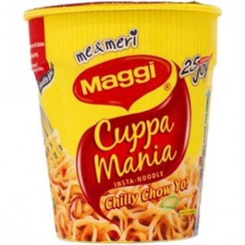 Maggi Cup Noodles - Cuppa Mania Chilly Chow , 70 Gm