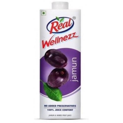 Real Wellnezz - Jamun , 1 Ltr Pack