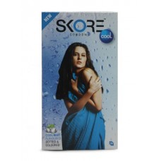 Skore Dotted & Colored Condoms - Cool