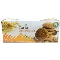 Gaia Biscuits - Oatmeal Cookies , 200 Gm Pack