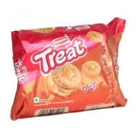 Britannia Biscuits - Treat Orange  , 150 Gm Pack