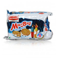 Britannia Cream Biscuits - Milk Bikis (Milky Sandwich), 200 Gm Pack
