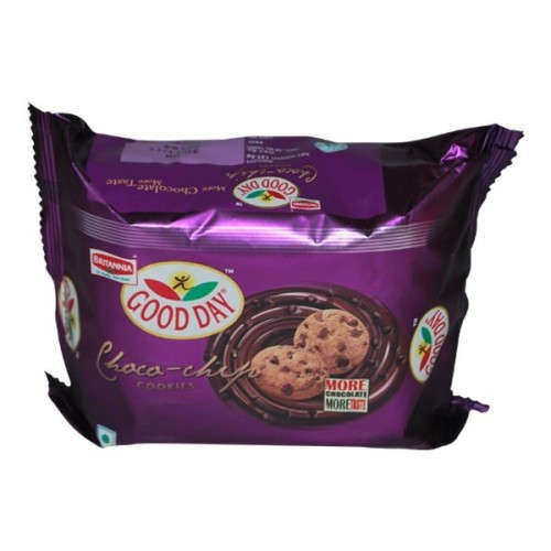 Britannia Biscuits - Good Day Chocochip Cookies , 150 Gm Pack