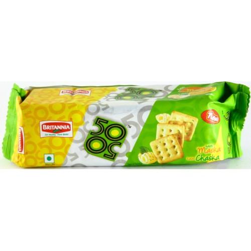 Britannia Biscuits - 50 50 Maska Chaska , 55 Gm Pack