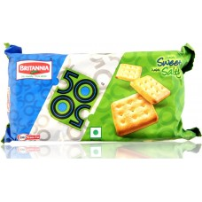 Britannia Biscuits - 50 50 Sweet & salty , 100 Gm Pack