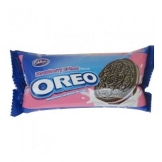 Cadbury Biscuits - Oreo Strawberry Creme , 60 Gm Pack