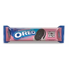 Cadbury Biscuits - Oreo Strawberry Creme , 150 Gm Pack
