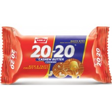 Parle Biscuits - 20 20 Cashew Butter Cookies , 200Gm Pack