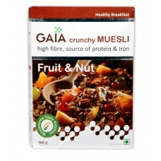 Gaia Crunchy Muesli -  Fruit & Nut , 400 GM