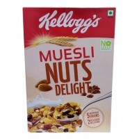 Kelloggs Muesli - Nuts Delight , 550 GM