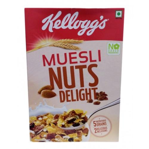 Kelloggs Muesli - Nuts Delight , 550 GM