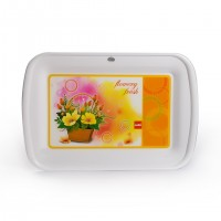cello Servia Tray Small - White