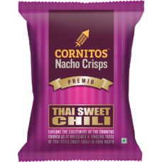 Cornitos Nacho Crisps - Thai Sweet Chilli , 60 Gm Pack