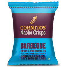 Cornitos Nachos Crisps - Barbeque, 60 GM Pack