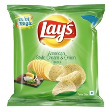Lays Potato Chips - American Style Cream & Onion , Big Save Pack