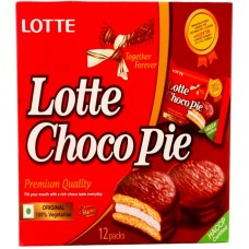 Lotte Chocopie - Pack Of 12 Pcs