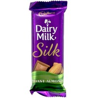 Cadbury Chocolate - Dairy Milk  Silk (Roast Almond)