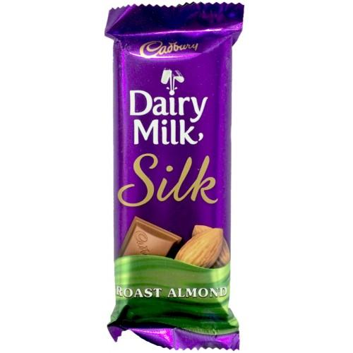 Cadbury Chocolate - Dairy Milk  Silk (Roast Almond)