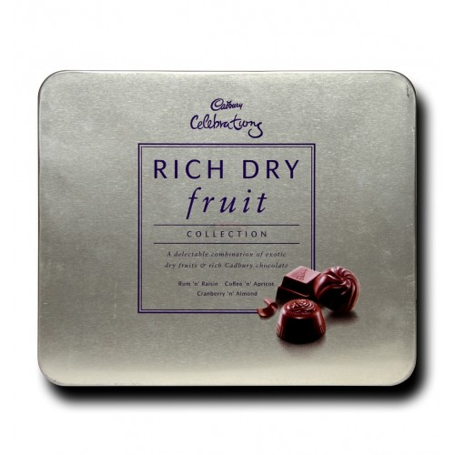 Cadbury Chocolate - Rich Dry Fruit Collection , 177gm