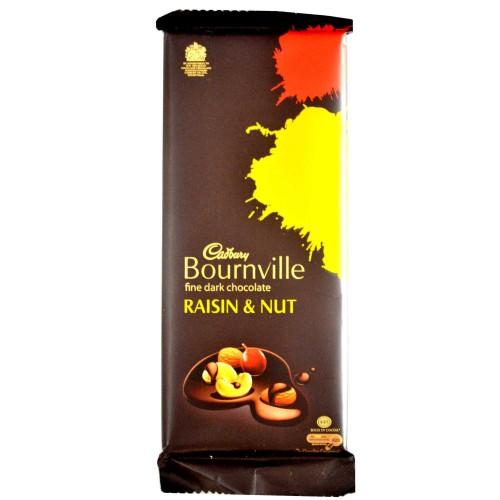 Cadbury Bournville Dark Chocolate - Raisin & Nut