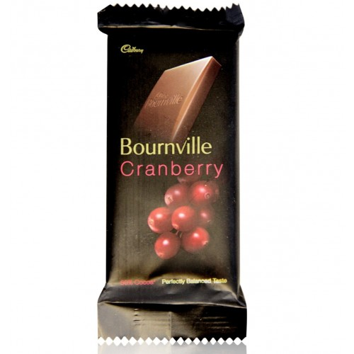 Cadbury Bournville Dark Chocolate - Cranberry