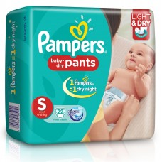 Pampers Baby Pants - Small (4-8 Kgs)