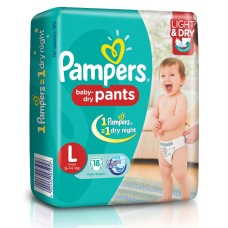 Pampers Baby Pants - Large (9-14 Kgs)