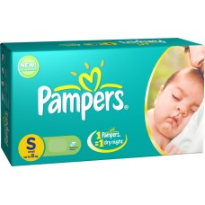 Pampers Diapers - Small (Upto 8 Kgs)