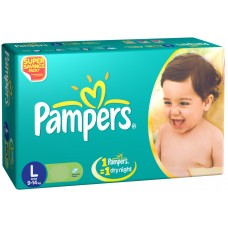 Pampers Diapers - Large (9-14 Kgs)